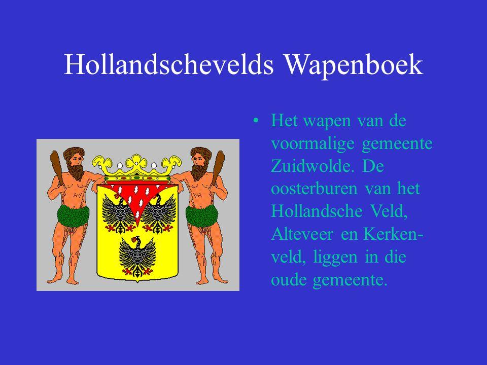 Hollandschevelds Wapenboek Het wapen van de voormalige gemeente Zuidwolde.