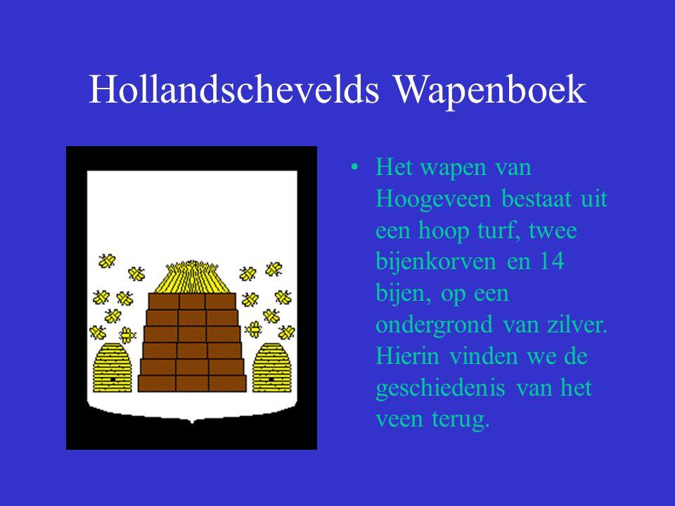 Hollandschevelds Wapenboek Het wapen van de familie Van Echten.