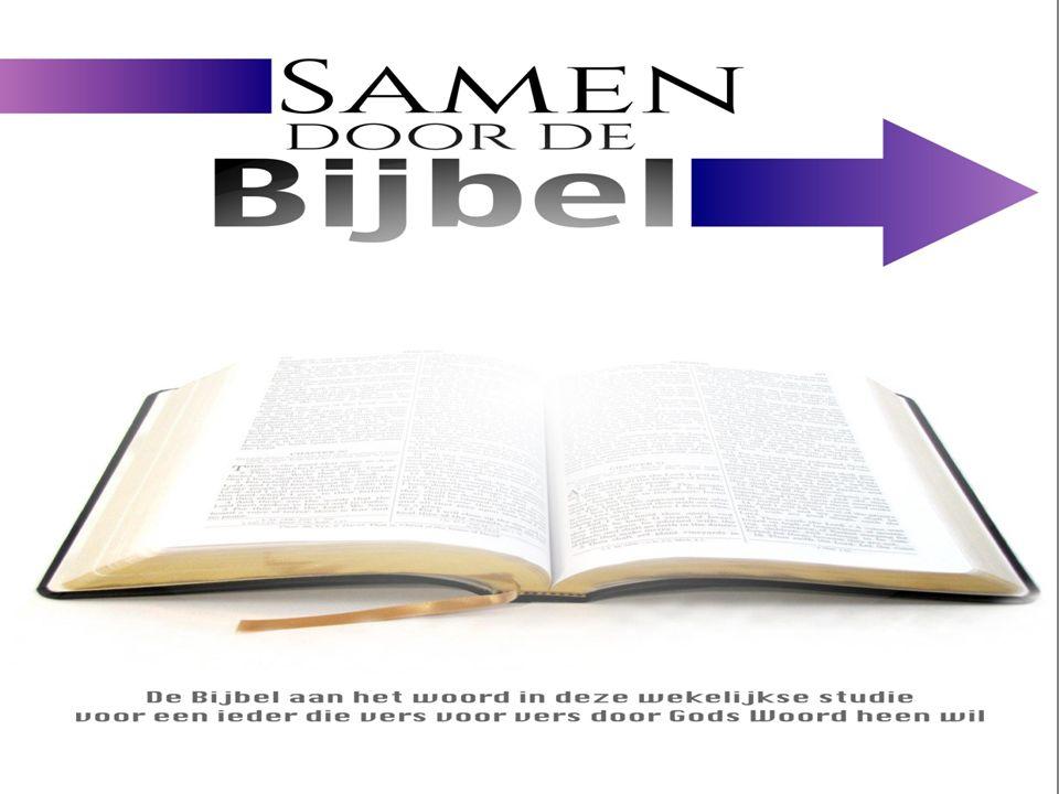 Welkom.Visie en hart achter Samen door de Bijbel.