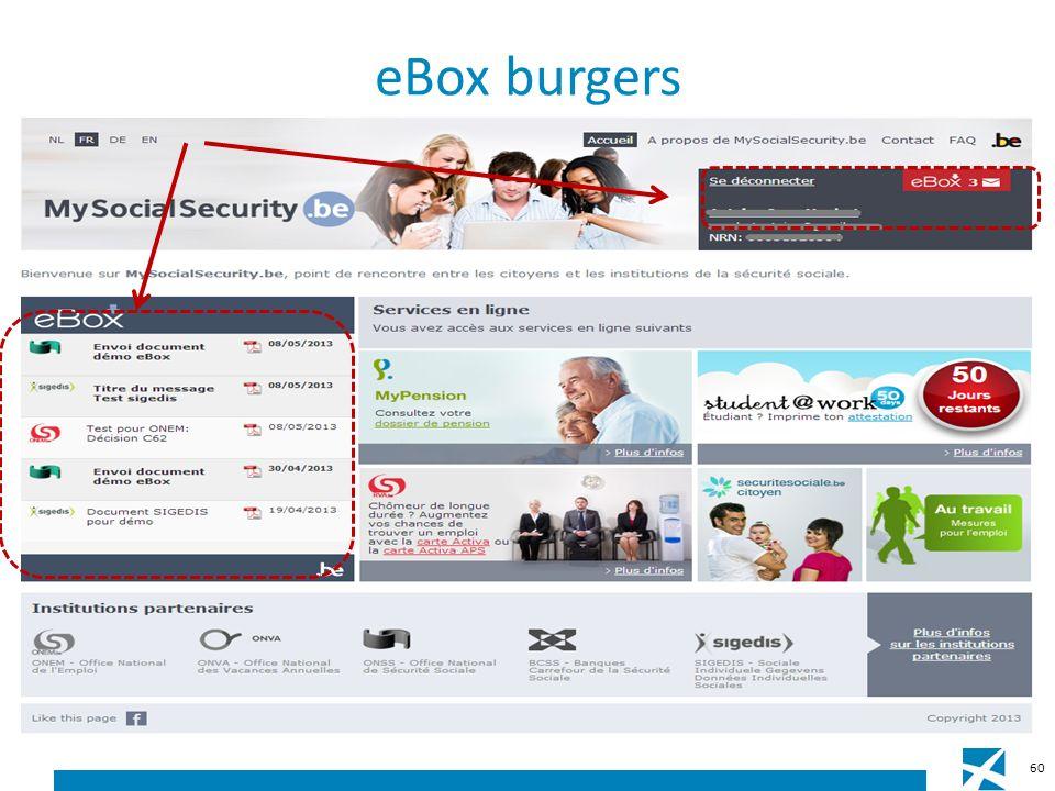eBox burgers 60