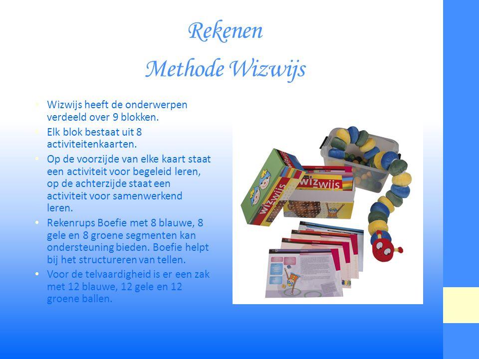 Rekenen Methode Wizwijs Wizwijs heeft de onderwerpen verdeeld over 9 blokken.