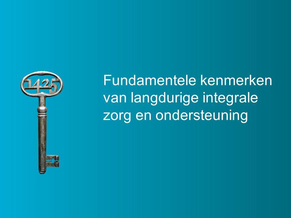 Fundamentele kenmerken van langdurige integrale zorg en ondersteuning