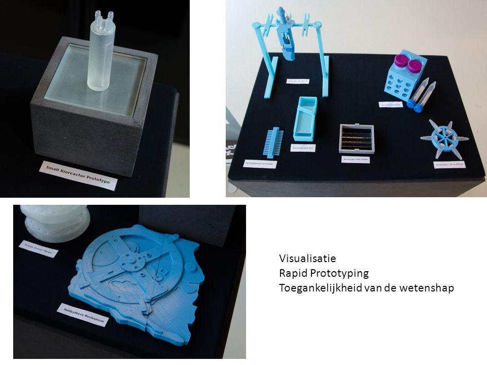 Visualisatie Rapid Prototyping Toegankelijkheid van de wetenshap
