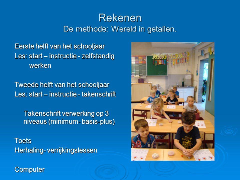 Rekenen De methode: Wereld in getallen.