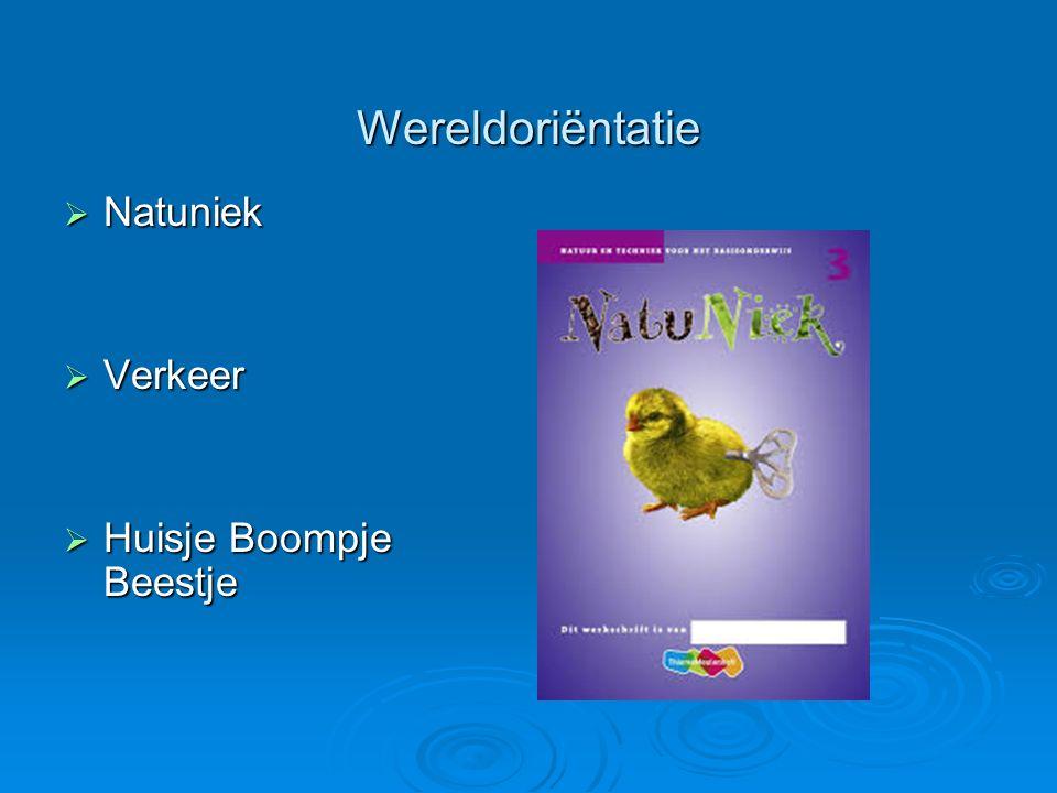 Wereldoriëntatie  Natuniek  Verkeer  Huisje Boompje Beestje