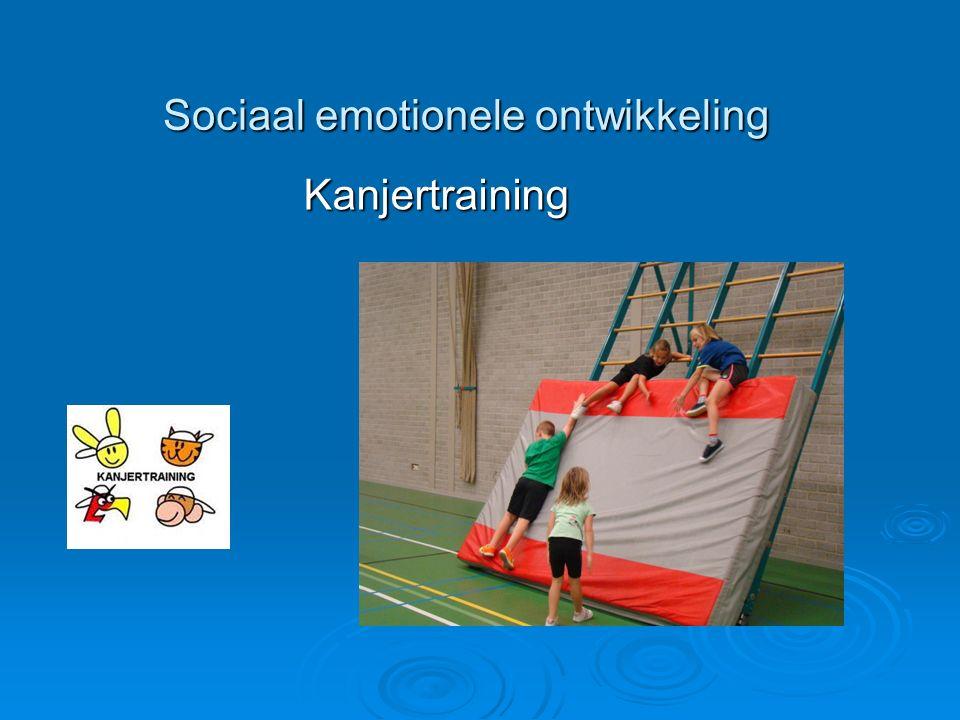 Sociaal emotionele ontwikkeling Kanjertraining Kanjertraining