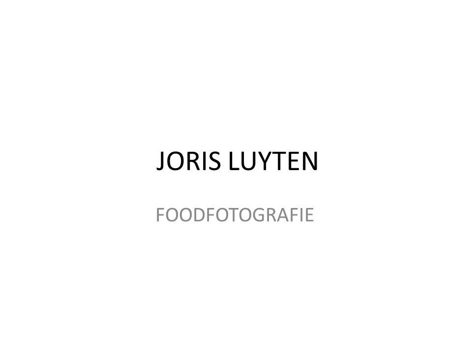 JORIS LUYTEN FOODFOTOGRAFIE