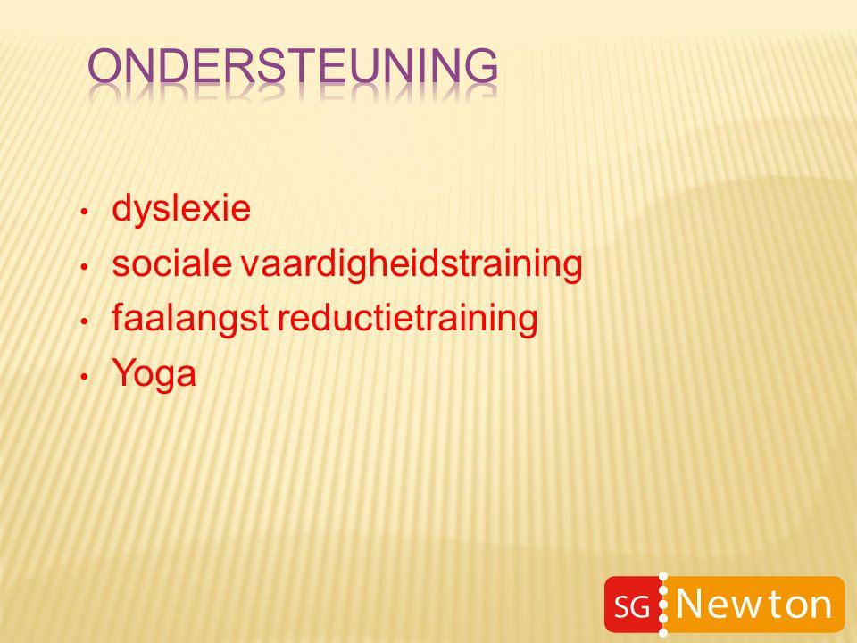 dyslexie sociale vaardigheidstraining faalangst reductietraining Yoga