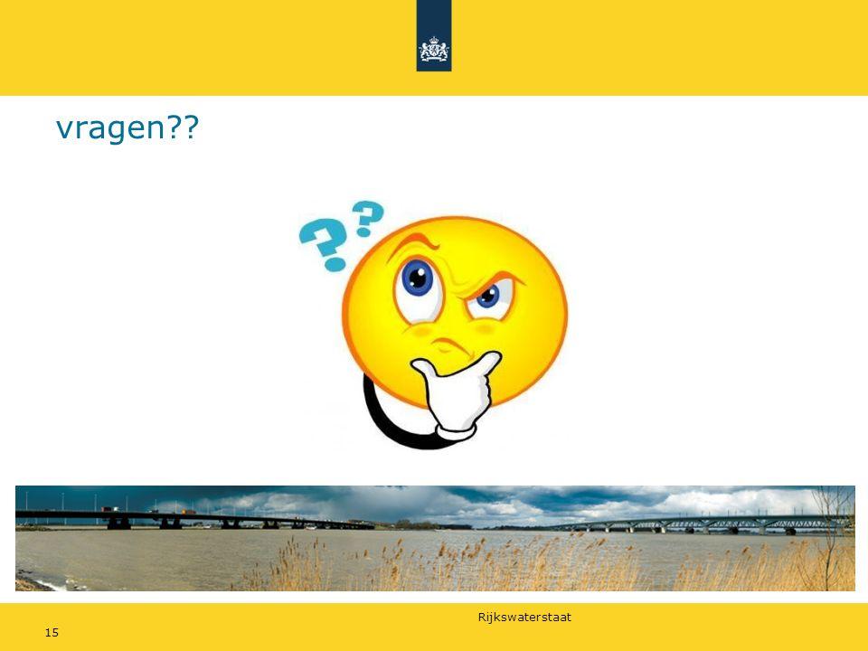 Rijkswaterstaat vragen?? 15