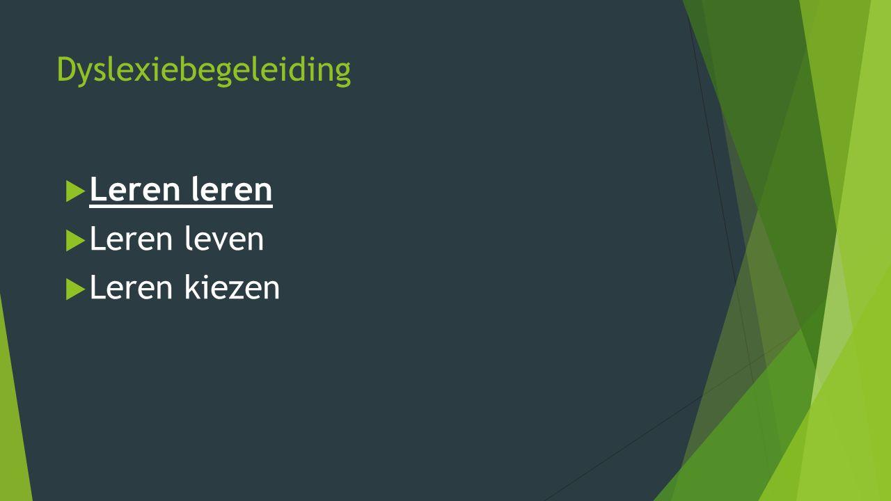 Dyslexie Nederland 'Een stoornis die gekenmerkt wordt door een hardnekkig probleem met het aanleren van het accuraat en/of vlot toepassen van het lezen en/of spellen op woordniveau' Stichting Dyslexie Nederland, 2008