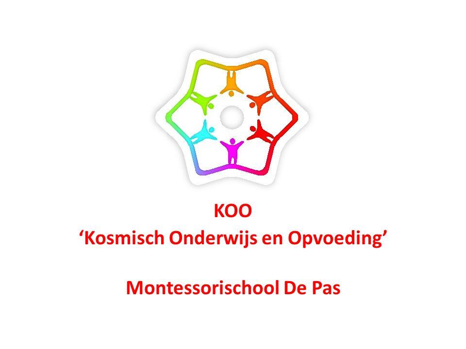 KOO 'Kosmisch Onderwijs en Opvoeding' Montessorischool De Pas
