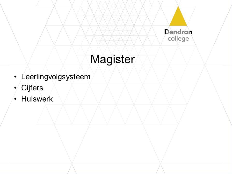 Magister Leerlingvolgsysteem Cijfers Huiswerk