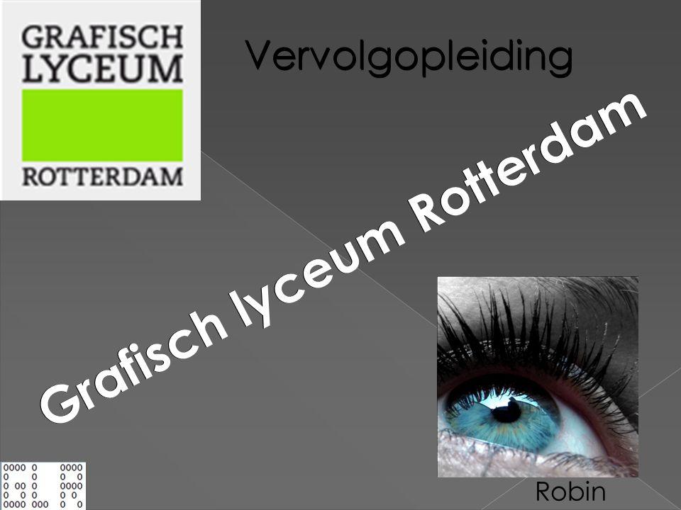 GLR Grafisch lyceum Rotterdam Vervolgopleiding Robin