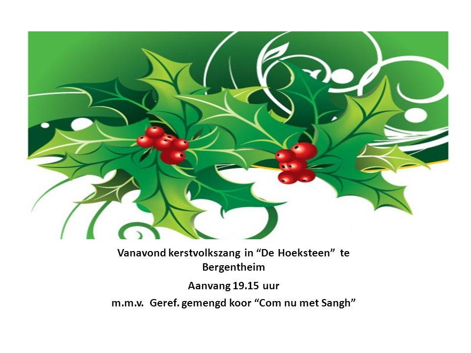 De Hemel 4 e Advent gaat open