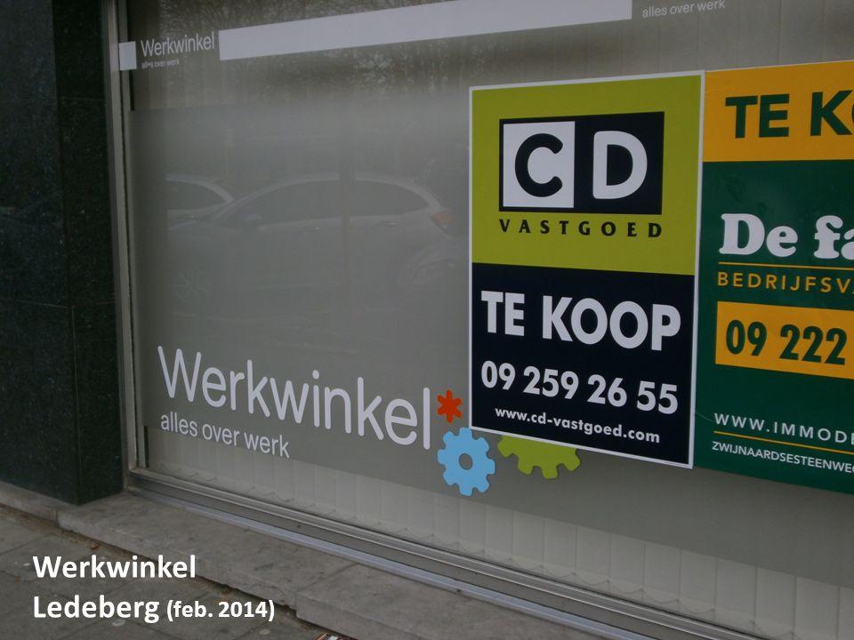 CONSEQUENTIES VOOR GENT Werkwinkel Ledeberg (feb. 2014)