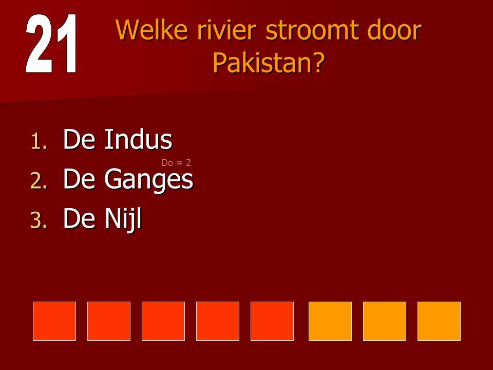 Wanneer werd Pakistan onafhankelijk? 1. In 1947 2. In 1957 3. In 1967