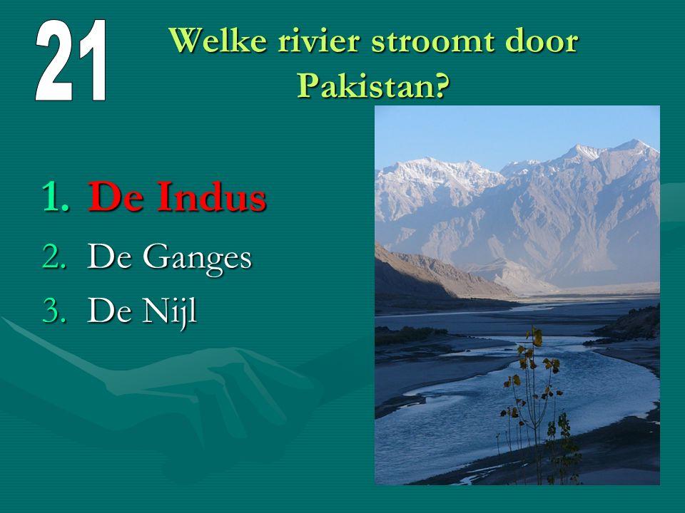 Wanneer werd Pakistan onafhankelijk? 1.In 1947 2.In 1957 3.In 1967 1947