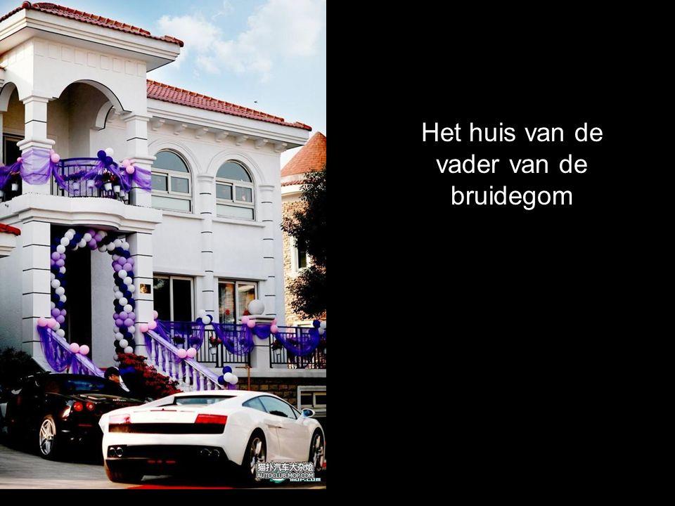 De auto van het bruidspaar: Rolls-Royce Phantom