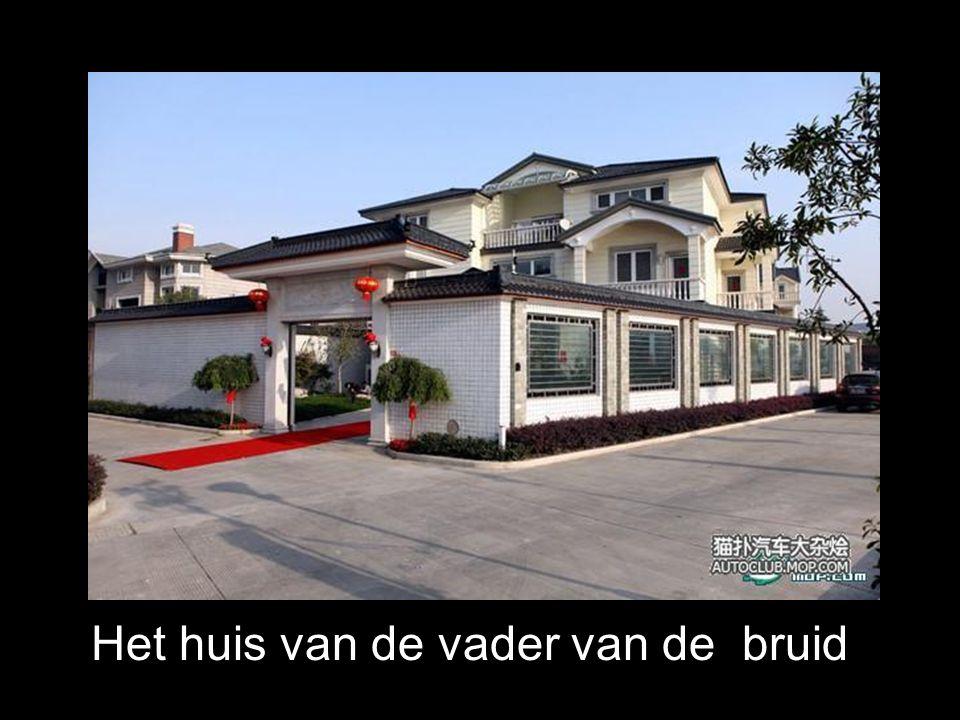 Het huis van de vader van de bruid