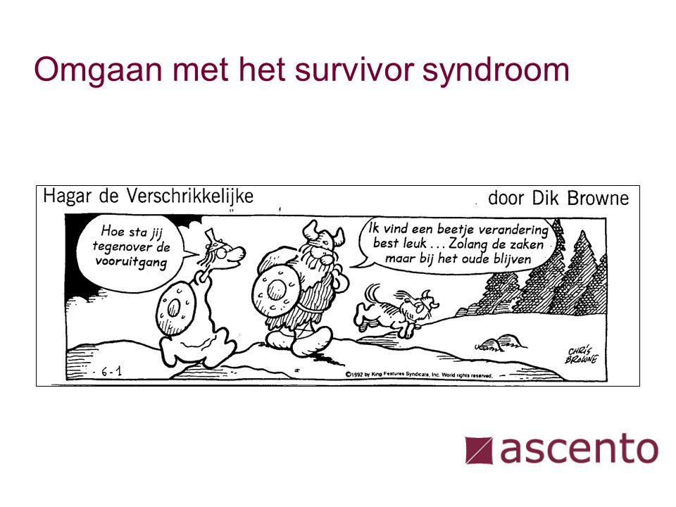 Omgaan met het survivor syndroom