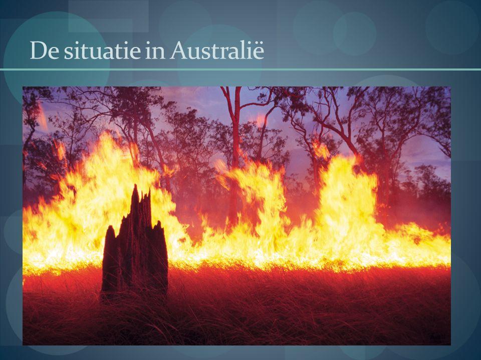De situatie in Australië