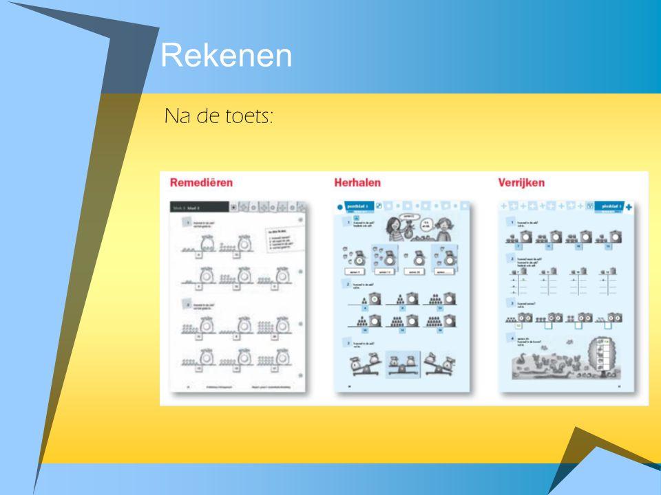 Rekenen zelf oefenen instructie zelfstandig werken samen oefenen zelfstandig werken reflectie - Lesduur 50 à 60 minuten - Elke les start met oefenen e