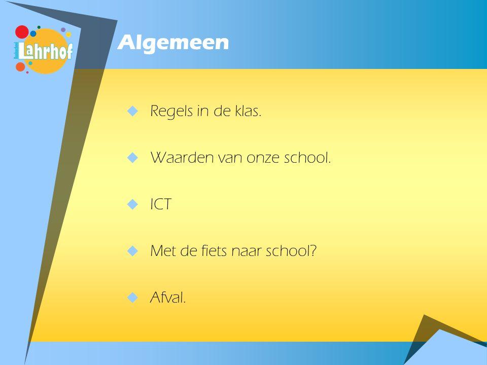 Algemeen  Neem eens een kijkje op: www.bslahrhof-sittard.nl  En ook op onze Facebookpagina  Ook ziekmelden via de website.  Toezicht voor school o
