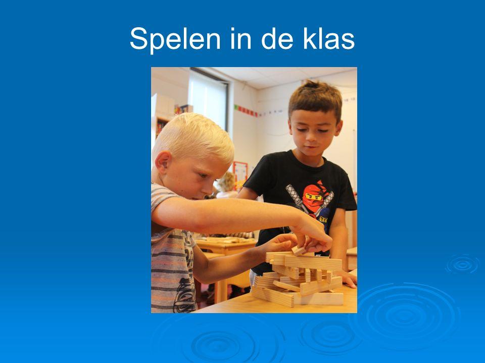 Spelen in de klas