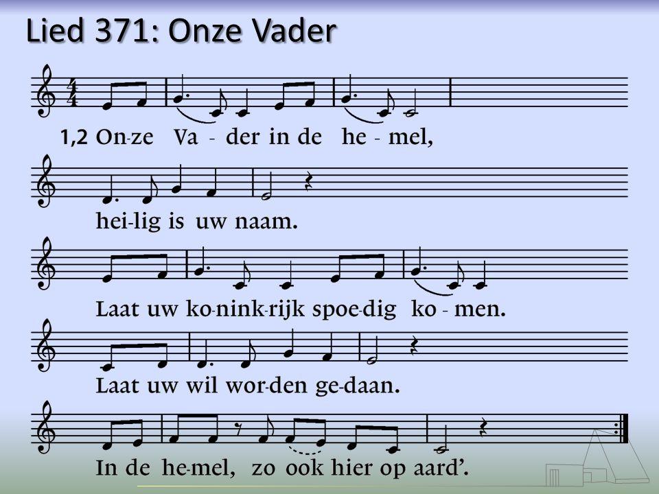 Lied 371: Onze Vader
