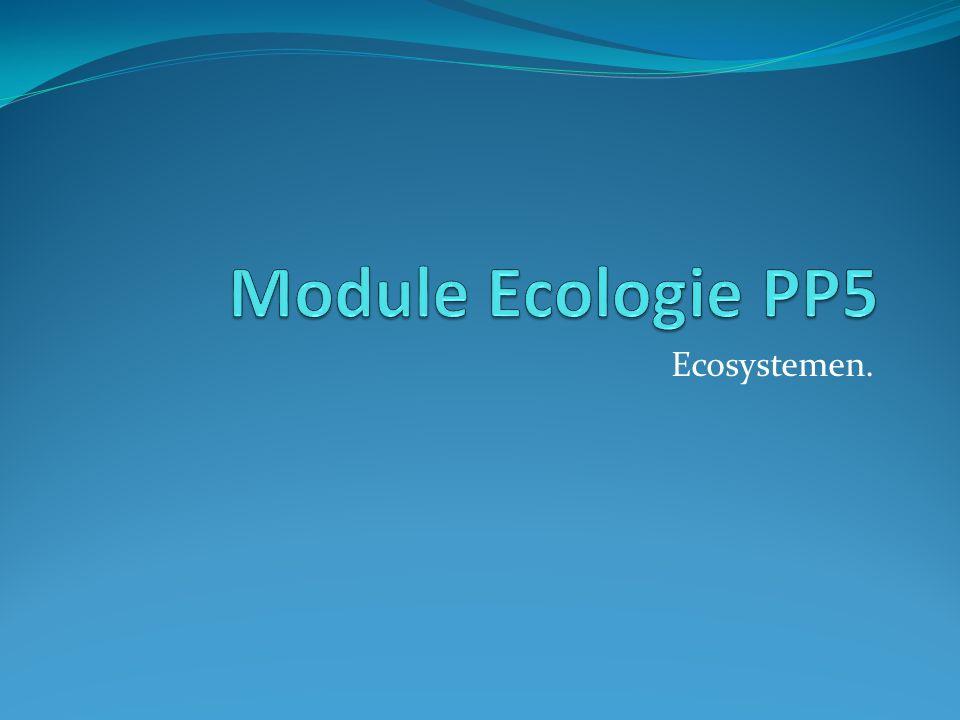 Ecosystemen.