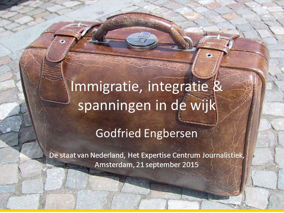 Drieluik INederland als immigratiesamenleving: toenemende migratiediversiteit IIDiverse wijken en ongelijkheid IIISpanningen in stad en wijk?