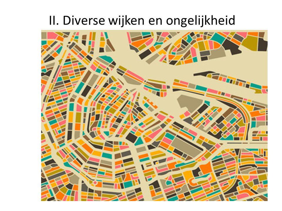 II. Diverse wijken en ongelijkheid