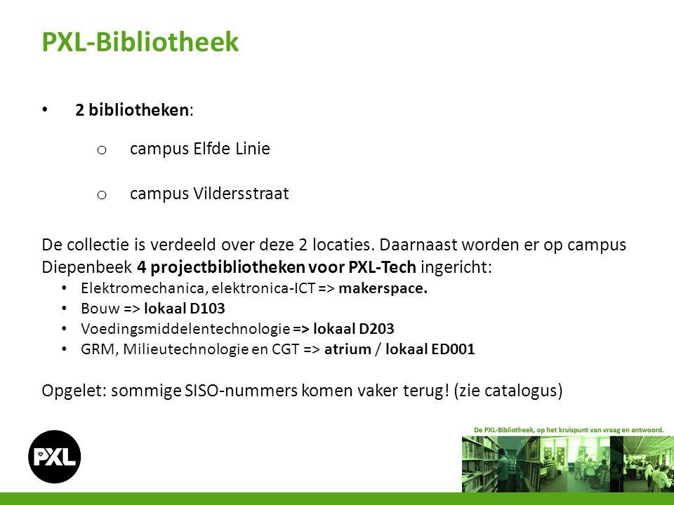 - Catalogus 1.ga naar www.pxl.be.