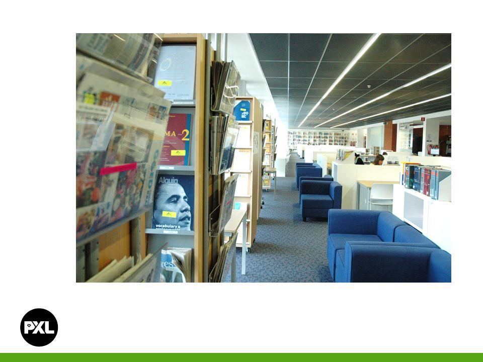 Boeken die niet aanwezig zijn in de PXL-Bibliotheek, kunnen elders worden aangevraagd.