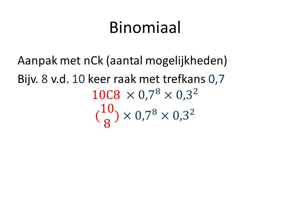 Binomiaal
