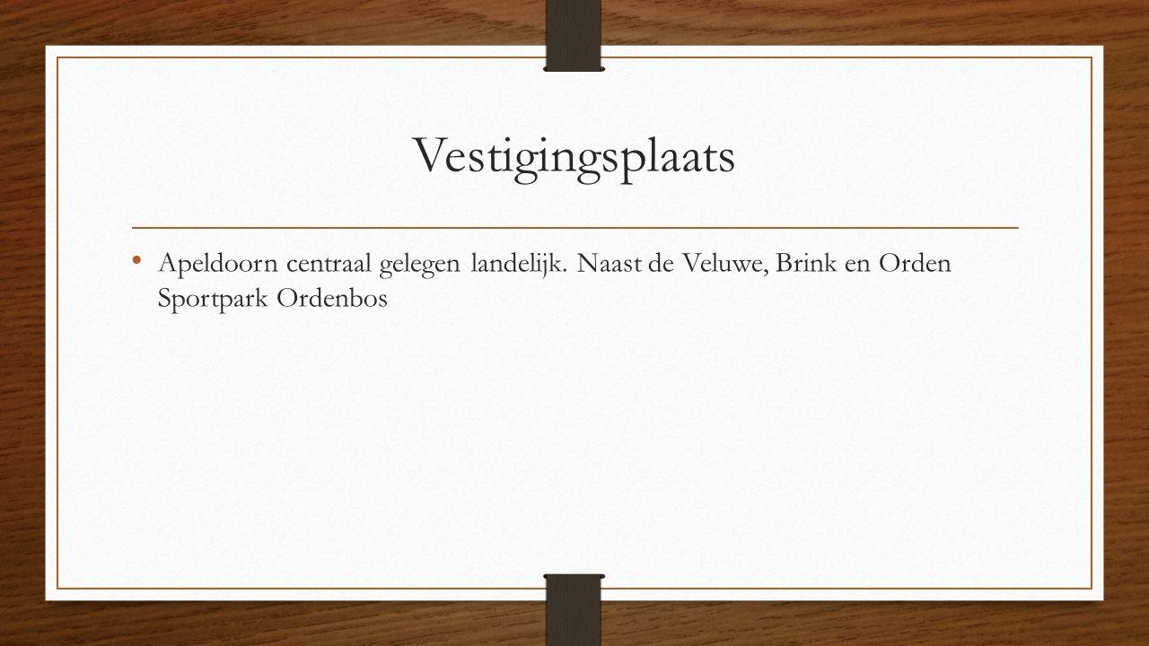 Vestigingsplaats Apeldoorn centraal gelegen landelijk.