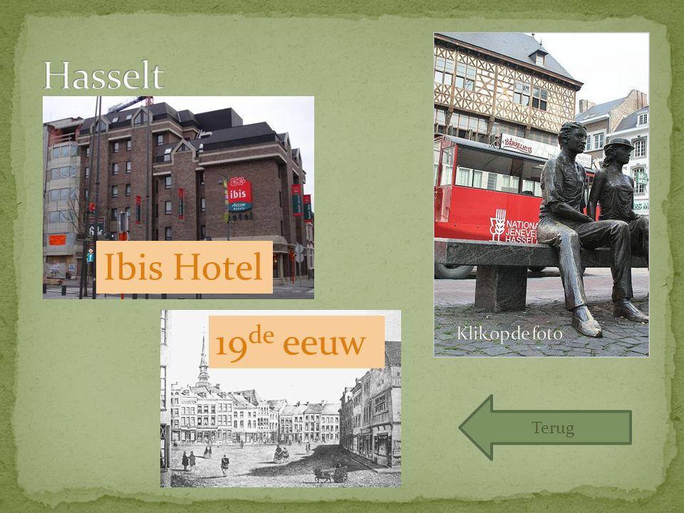 Ibis Hotel 19 de eeuw Terug