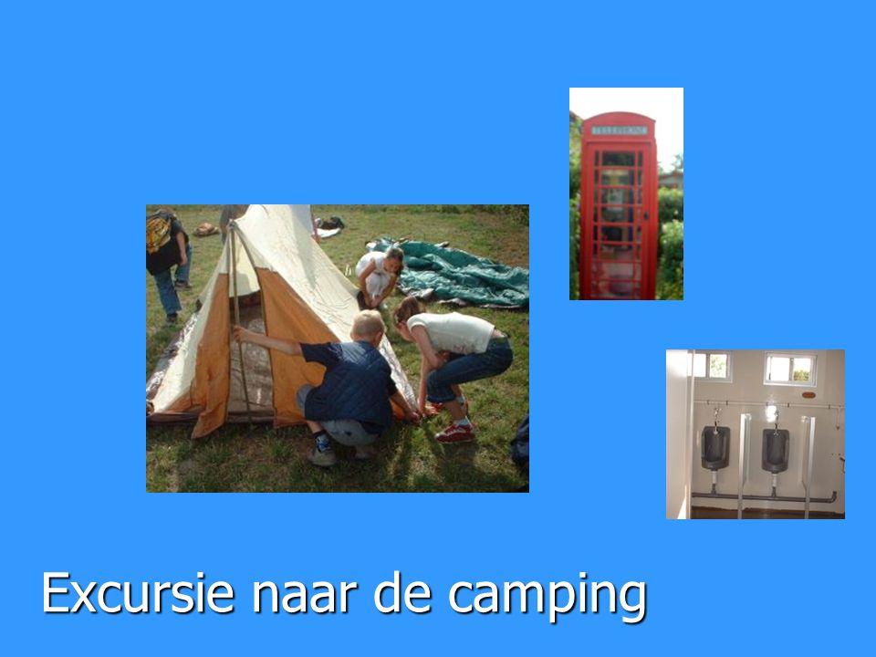 Excursie naar de camping