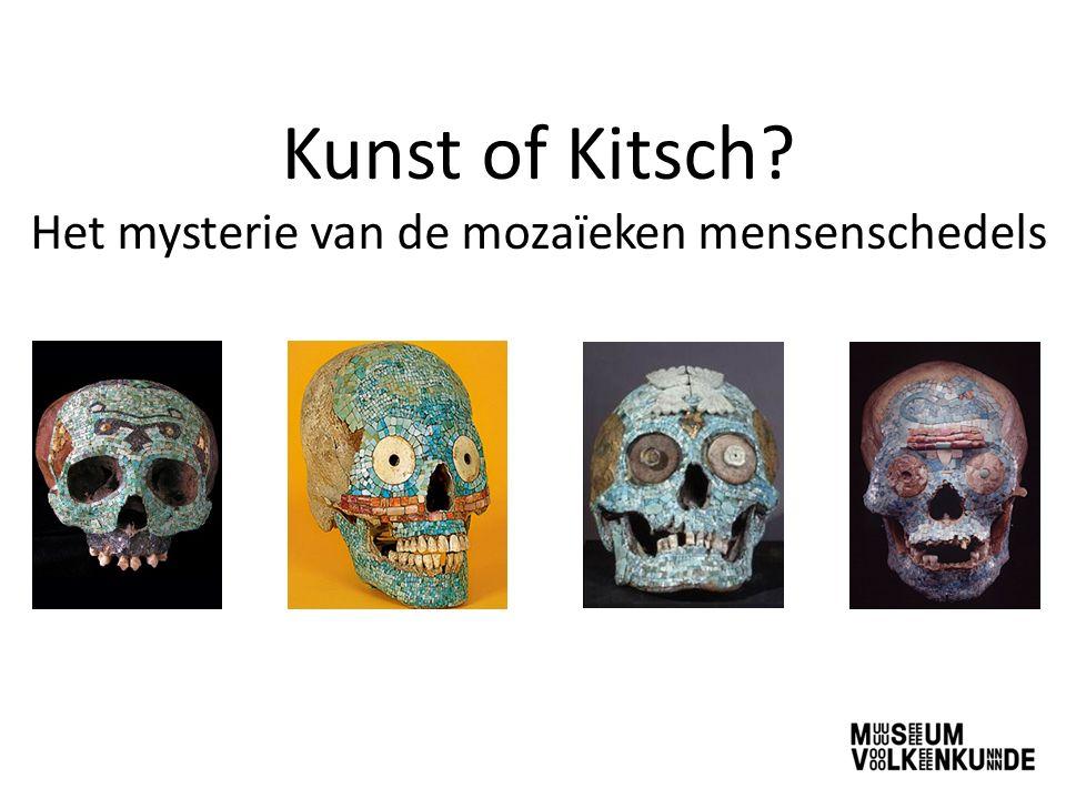 Kunst of Kitsch? Het mysterie van de mozaïeken mensenschedels