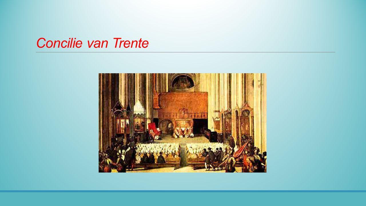 Jezuïeten Nieuwe orde ◦In 1540 erkend ◦Streng (militair) georganiseerd ◦Kritische intellectuelen Krijgt de taak ◦De disciplinaire maatregelen uit te voeren ◦Recht te spreken ◦Rol bij de inquisitie ◦Missie te bedrijven En voerde deze taken zeer succesvol uit Ignatius of Loyola (1491 -1556)