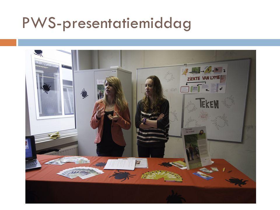 PWS-presentatiemiddag