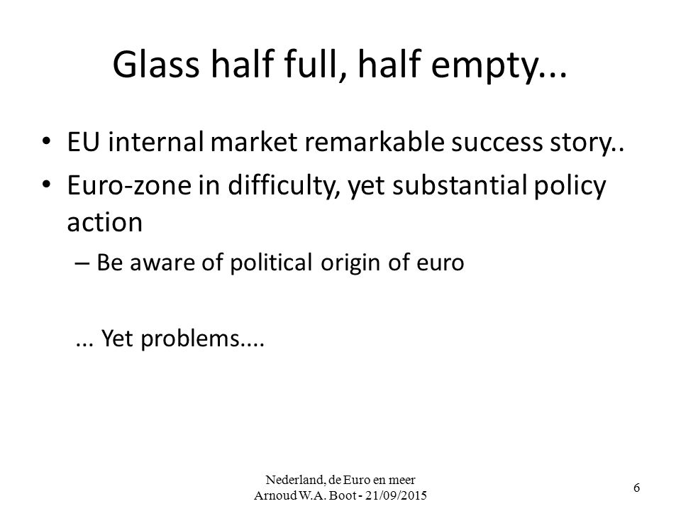 Euro choices What does currency union need.– Convergence in economic (and social?) structures...