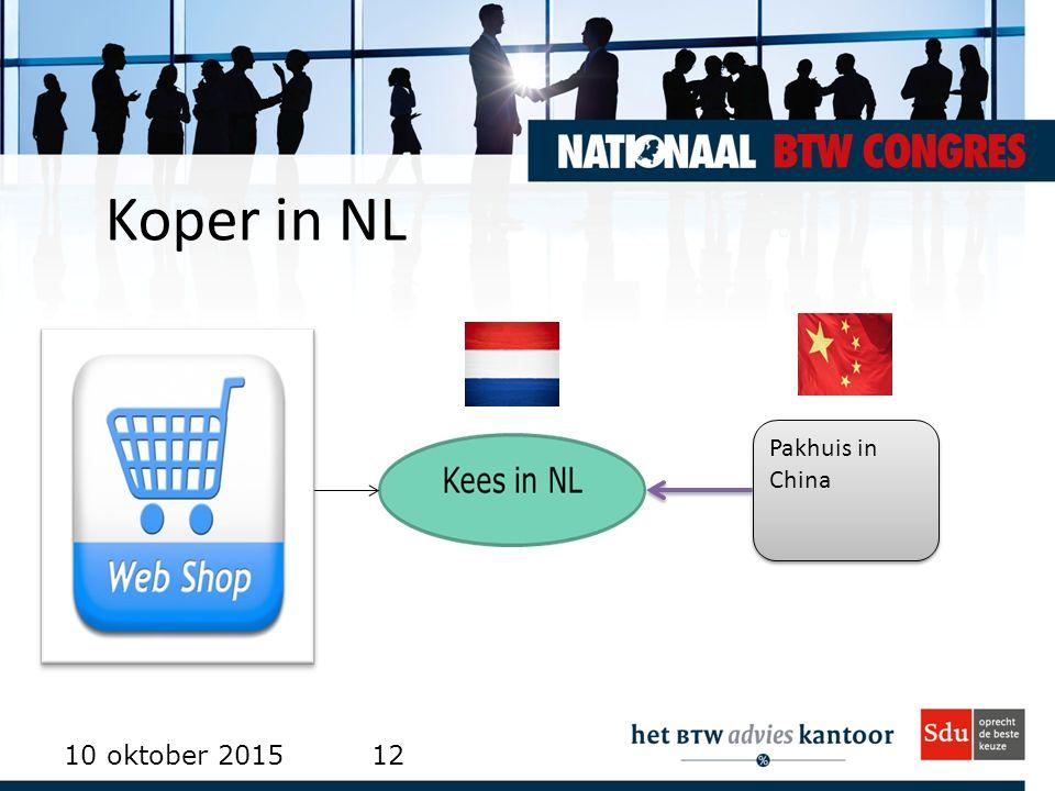 Koper in NL 10 oktober 201512 Pakhuis in China
