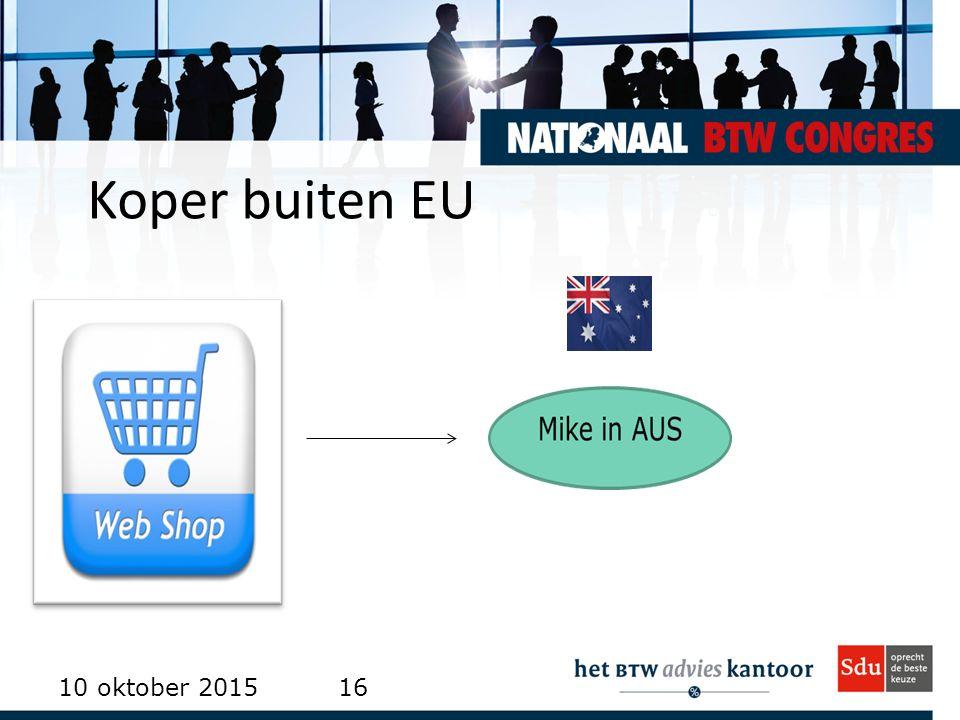 Koper buiten EU 10 oktober 201516