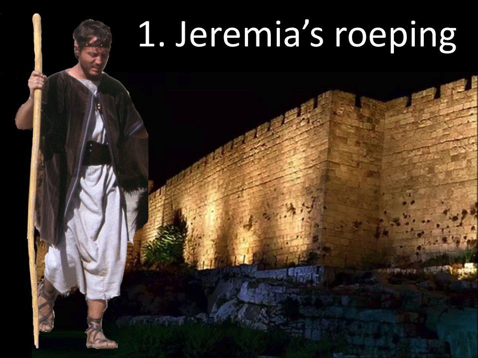 1. Jeremia's roeping