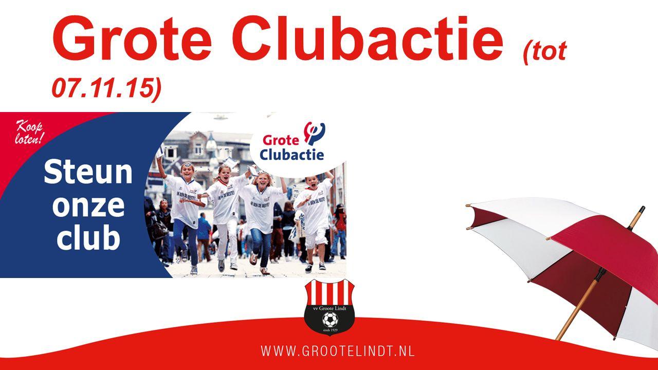 Grote Clubactie (tot 07.11.15)