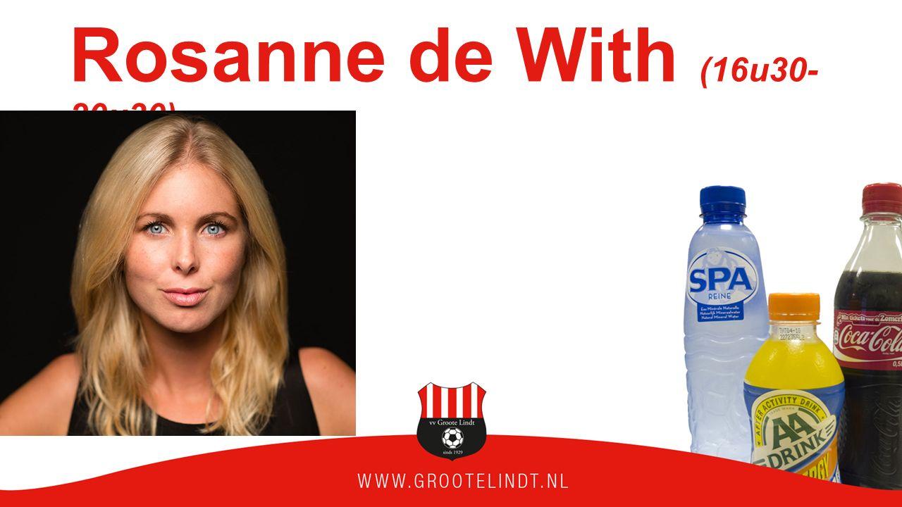Rosanne de With (16u30- 20u30)