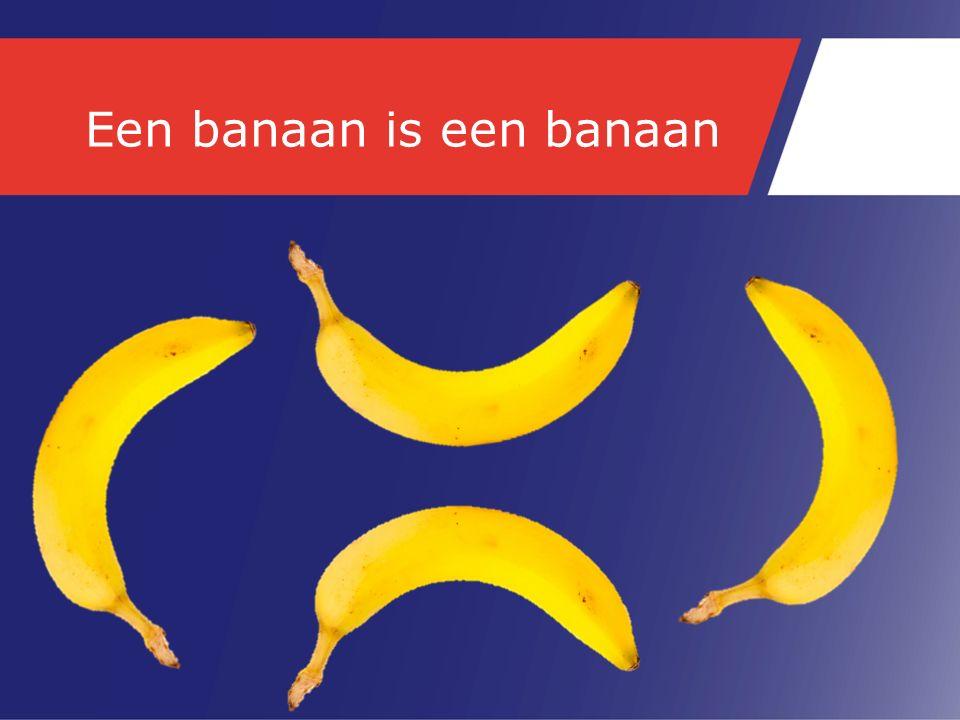 Een banaan is een banaan
