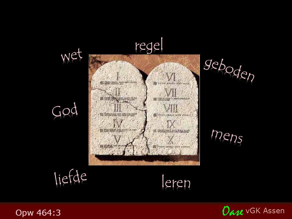 vGK Assen Oase Opw 464:3