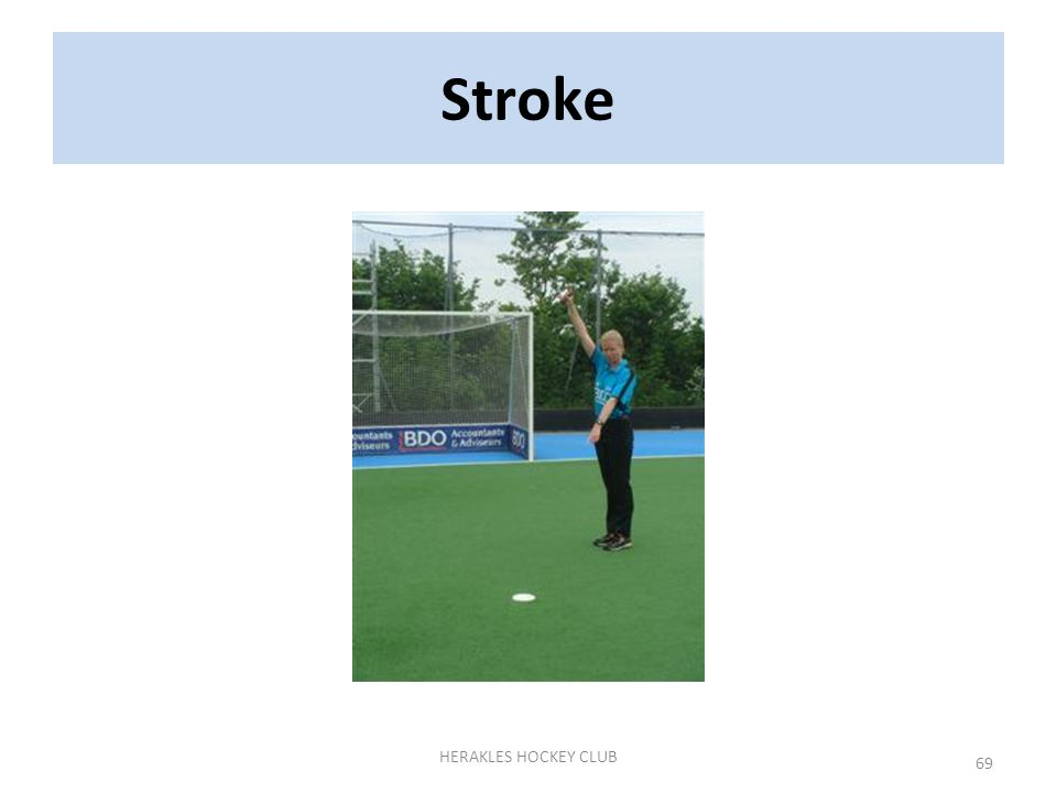 69 HERAKLES HOCKEY CLUB Stroke